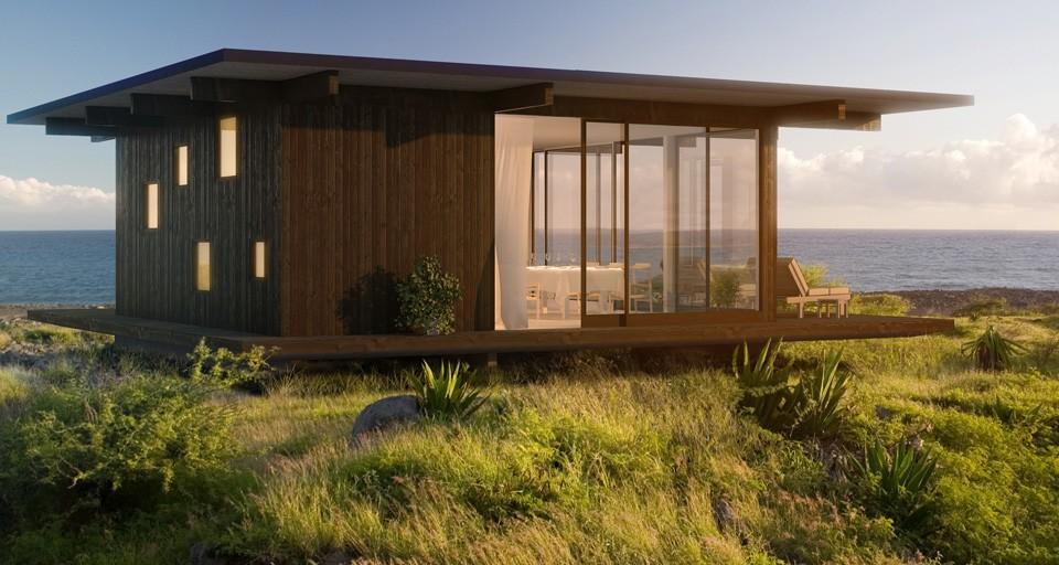Impresionantes fotos para ideas de casas peque as - Decoracion de casas prefabricadas pequenas ...
