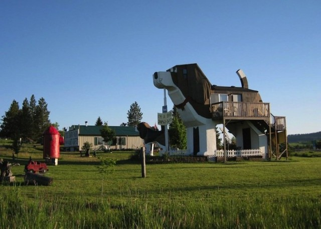 A Dog Shaped Hotel in Idaho