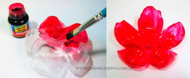 Flor de Garrafa Pet - PAP 03