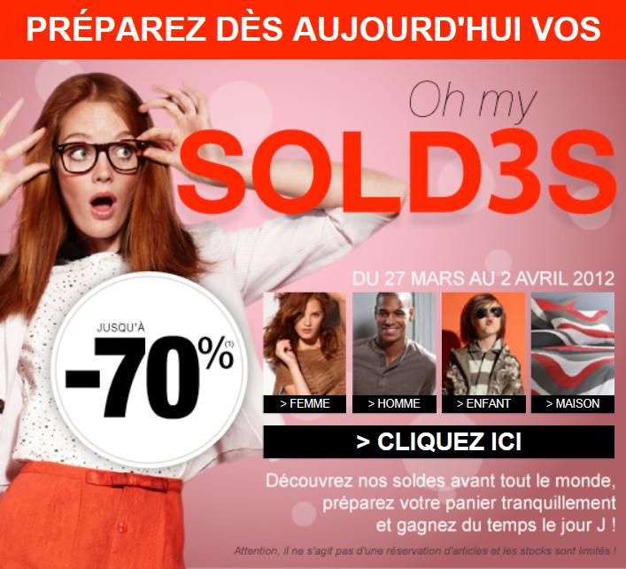 Le blog malin 3 suisses soldes de printemps du 27 mars - Code promo vente du diable frais de port offert ...