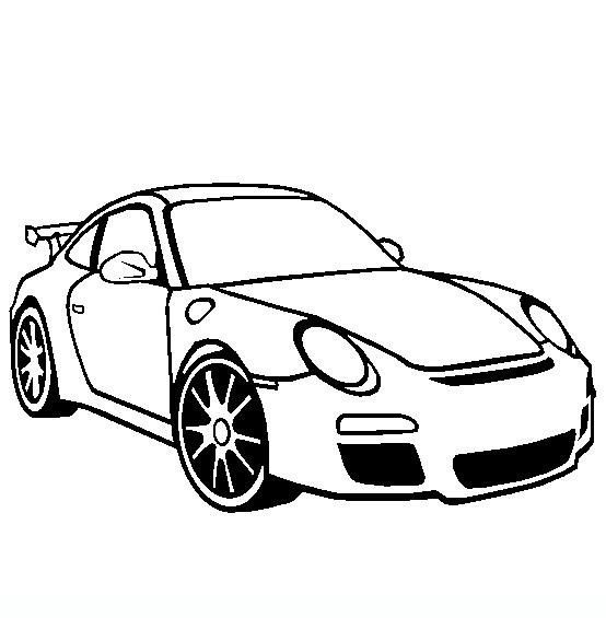 Schede ed attivit didattiche del maestro fabio per la for Disegni da colorare macchine cars