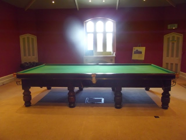 Wray Castle, billiard room