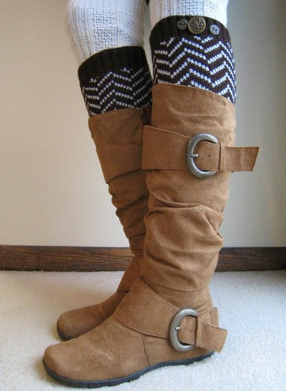 beautiful brown knee boot