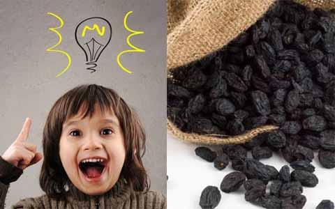 Tingkat IQ Anak Bisa Diketahui Dengan Secangkir Kismis