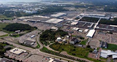 Factoría Volvo Torslanda, Gotemburgo, Suecia