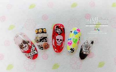 Pirate Nail Art, Water Decal Stickers