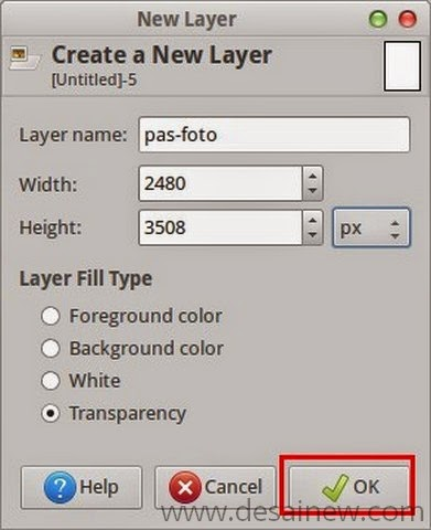 Create a New Layer in Gimp