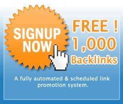Free 1000 Backlinks