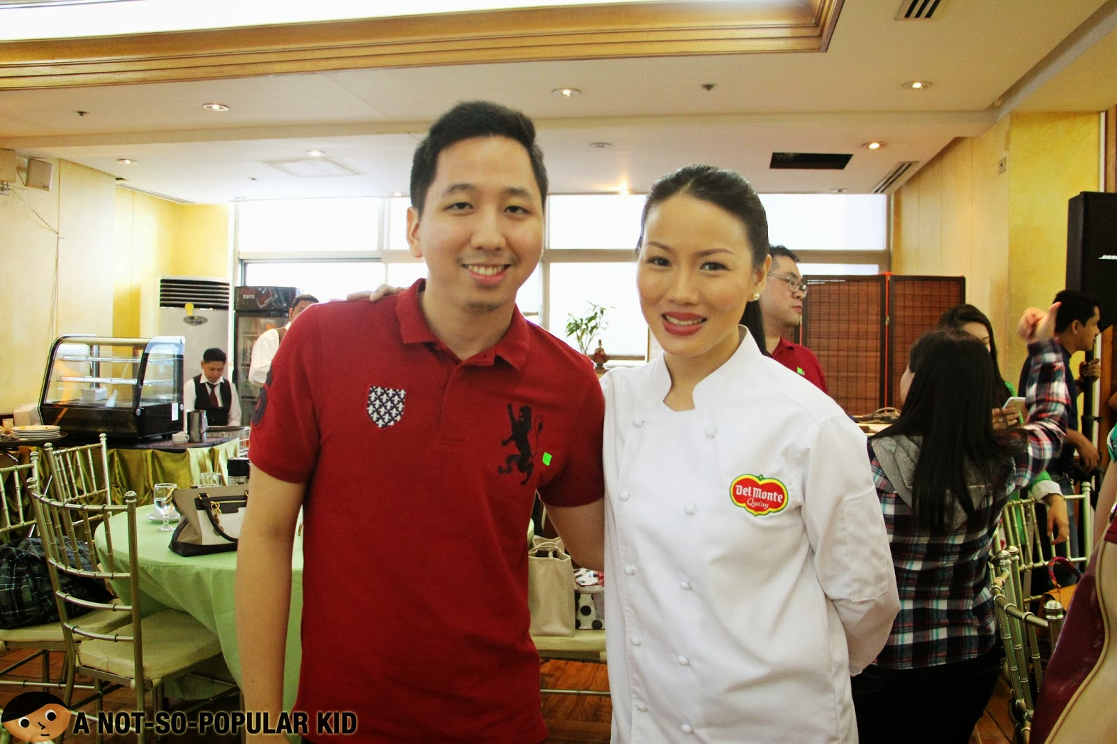 Chef Jackie Ang Po for Del Monte Kitchenomics 2014