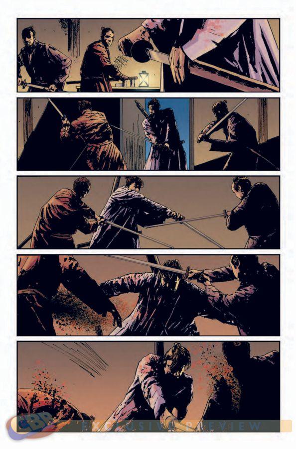 SORTIES PANINI AVRIL 2012 5+ronin+punisher