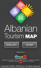 Albania Tourism Map 2013