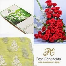 Red Rose and gifts card delivery Pakistan with price