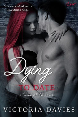 Dying to Date Fated Match paranorma romance by Victoria Davies