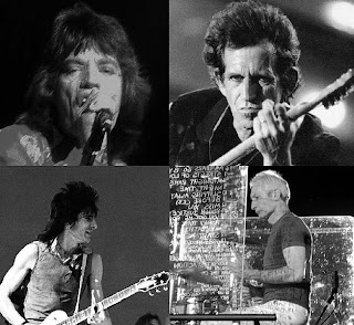 The Rolling Stones band members montage