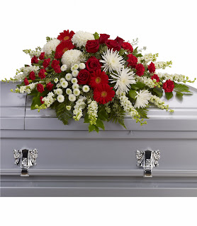 Order A Teleflora Strength and Wisdom Casket Spray
