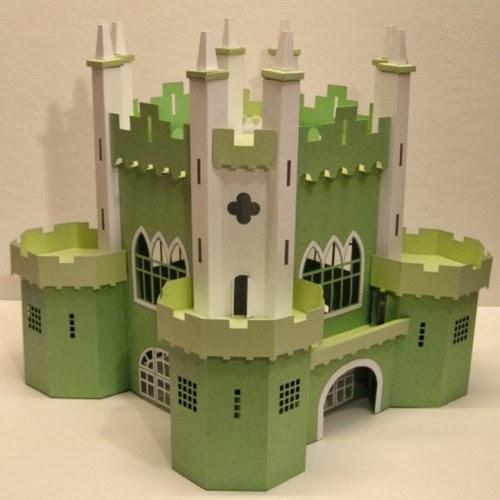 Papercraft Castle