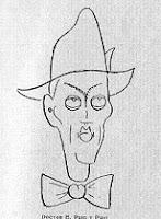 Caricatura del Dr. Esteban Puig y Puig