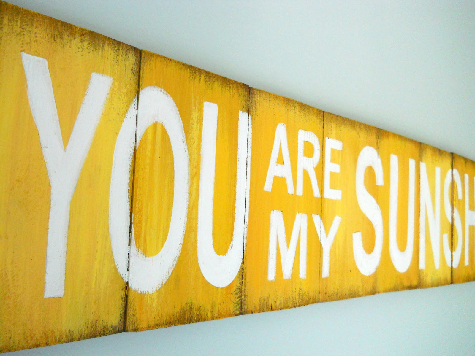 Lake Girl Paints: You Are My Sunshine - Arial Bold Font