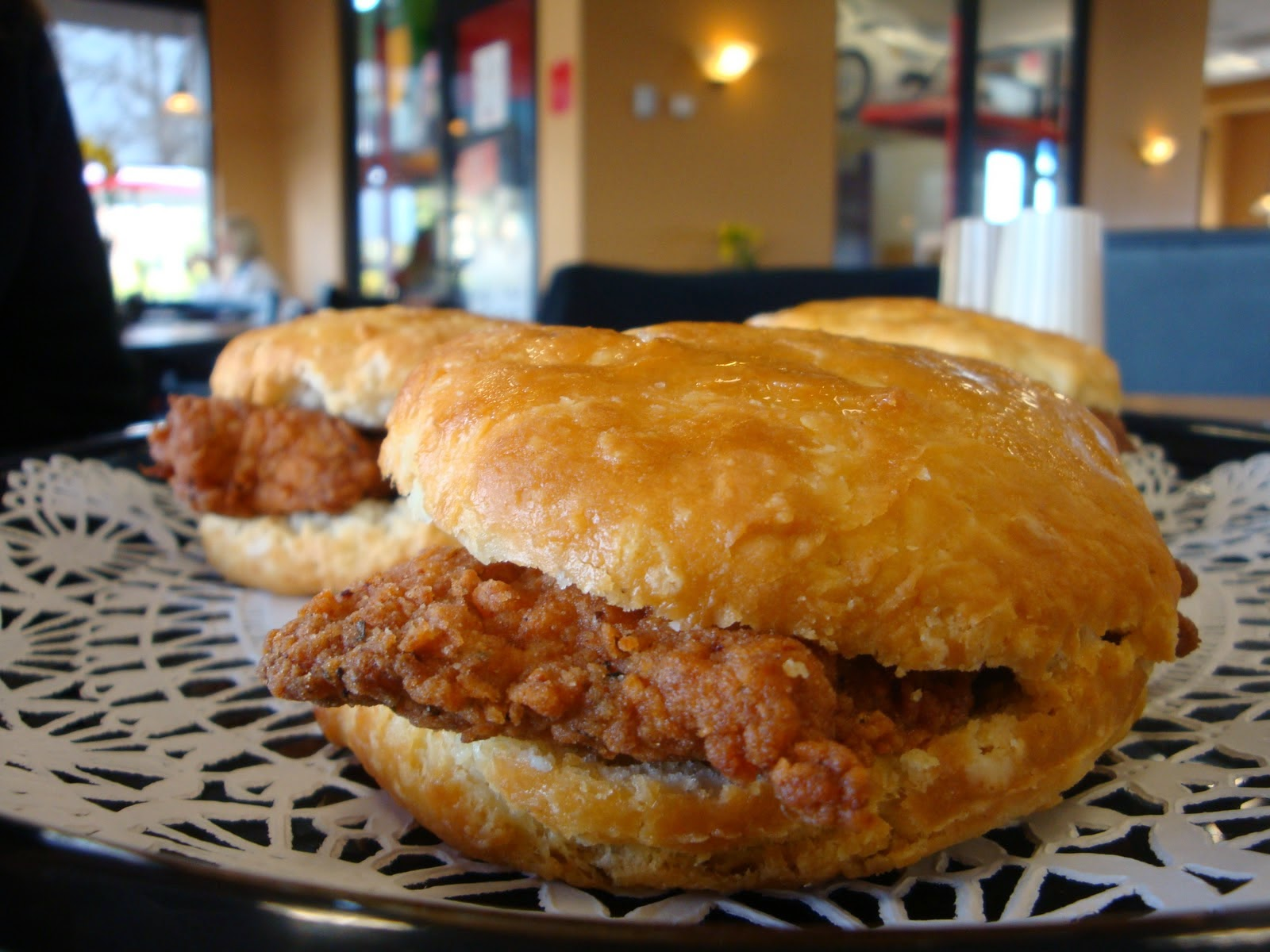 Spicy Southern Chicken Biscuits Recipe — Dishmaps