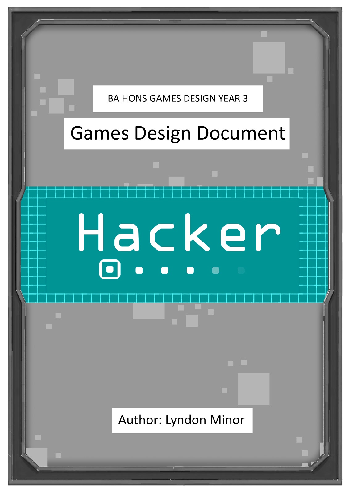 xb games futures game design document final draft lyndon example of finished game design document front page