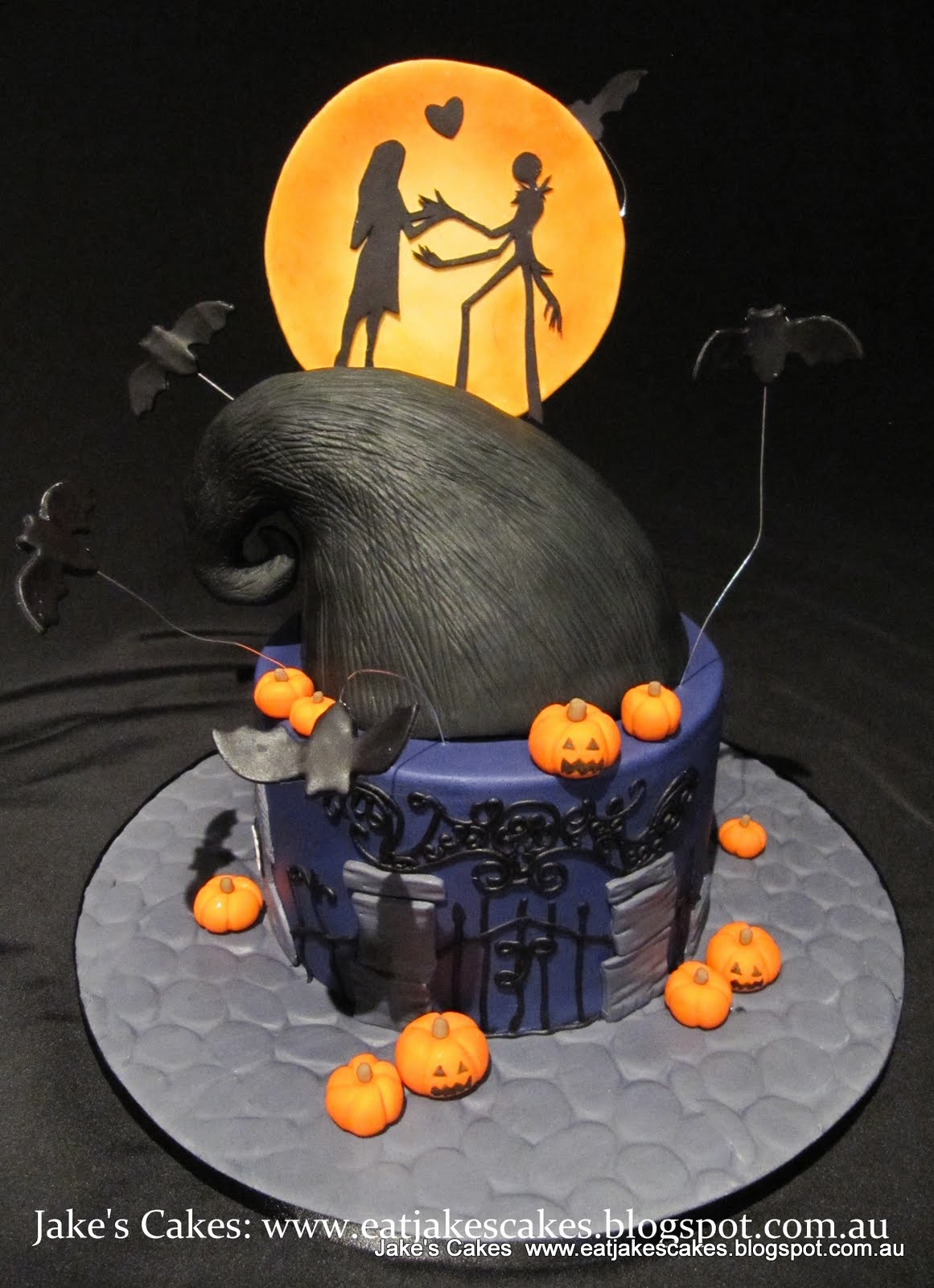 Jake's Cakes: Nightmare before Christmas Cake