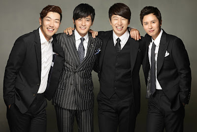 Jiro, Dennis, Tristan and Ron of A gentleman's Dignity Premiering this November 19 on ABS-CBN Kapamilya Gold