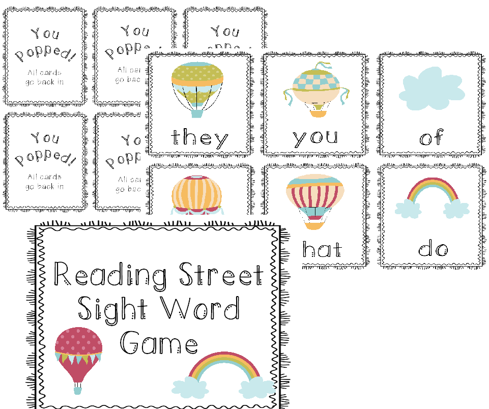 http://www.teacherspayteachers.com/Product/Reading-Street-Kinder-Sight-Word-Game-1166558