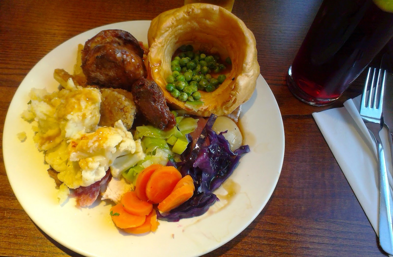 Toby Carvery meal
