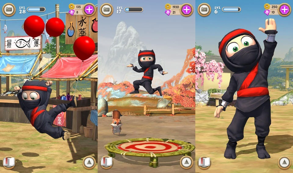 Clumsy Ninja unlimited gold coins