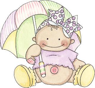 Imagem para decoupage de Bebê