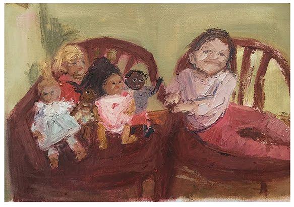 Nena y muñecas