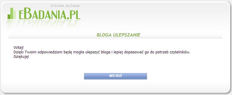http://niebieskoszara.blogspot.com/2013/12/fitblog-ankieta.html