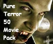 12 DVDs, 50 Horror Films - One Helluva Awesome Movie Pack!