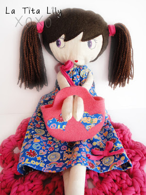 Cloth doll.