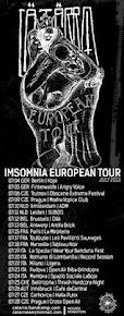 CÄTÄRRO INSOMNIA EUROPEAN TOUR