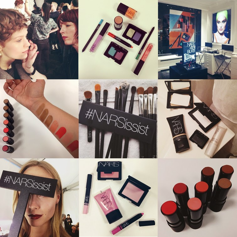 @NARSissist, #NARSissist, NARS Cosmetics on instagram