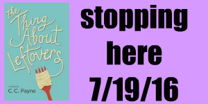 the thing about leftovers blog tour