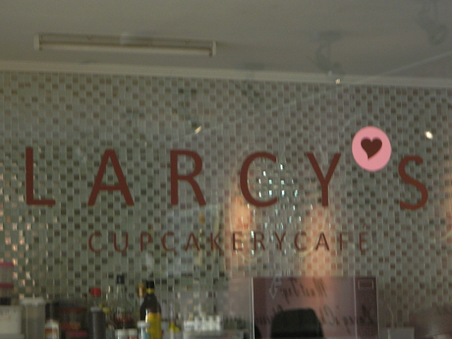 Larcy's Cupcakery Cafe - BF Aguirre