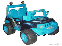 Junior TR8887 Ferity Jeep in Blue