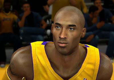 NBA 2K14 Realistic Kobe Bryant Cyberface Mod