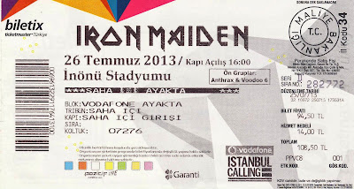 Iron Maiden Live at Istanbul  (26 July 2013)