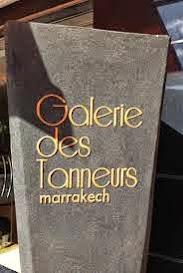 galerie des tanneurs marrakech maroc