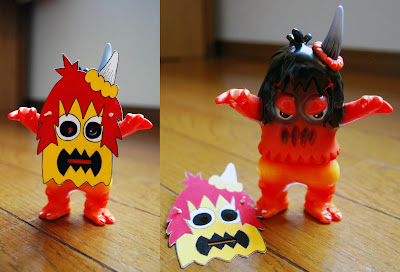 "Fall Custom Ugly Unicorns by Rampage Toys - Custom #12 ""Masked Ugly"""