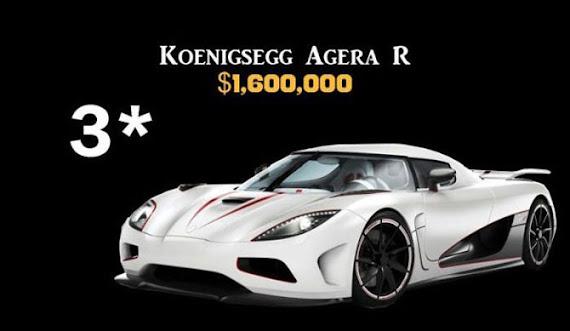 Koenigsegg Agera R $1,600,000