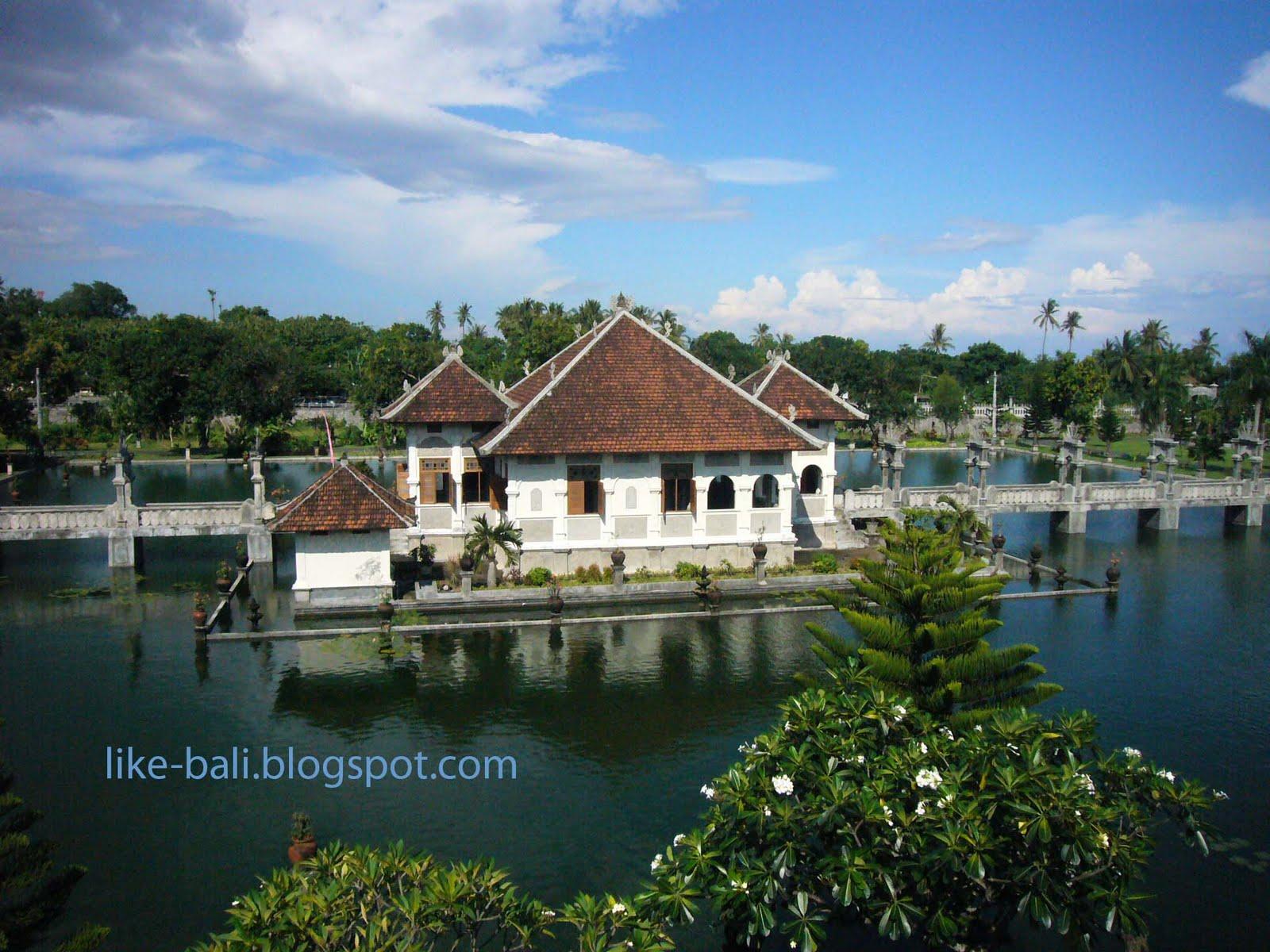 like bali water palace karangasem bali