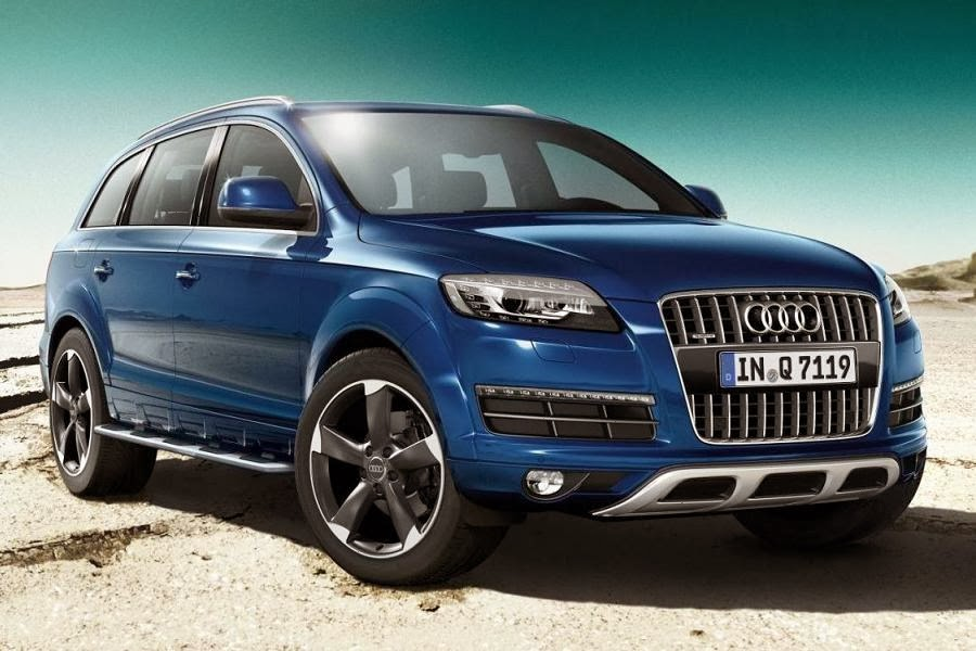 Audi Q7 S Line Style Edition (2014) Front Side