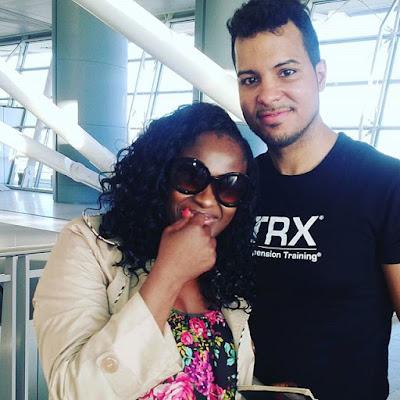 Uche Jombo and husband Kenny Rodriguez