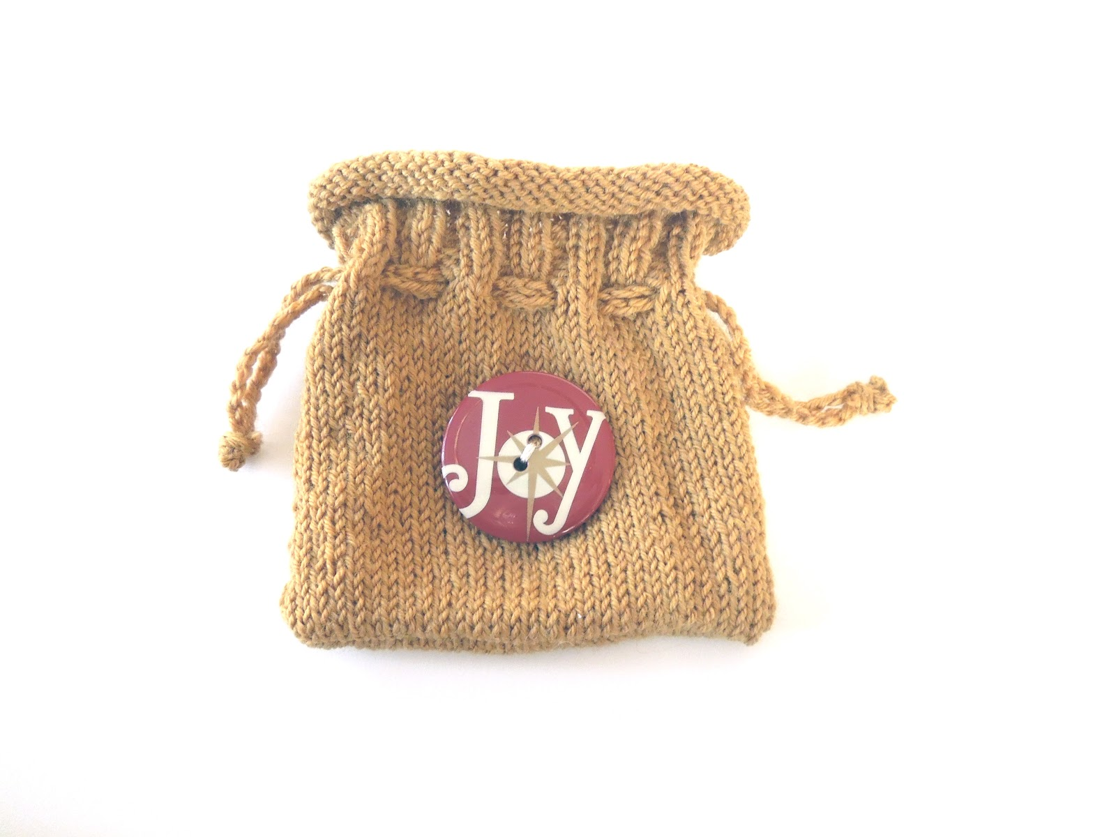 Knitting Gifts : The Creative Skein: Little Knitted Gift Bags
