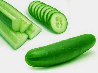 Eliminate Body Odor by Using cucumber