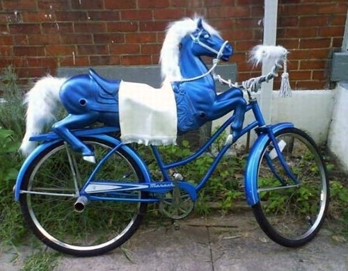 Animal Shaped Bikes